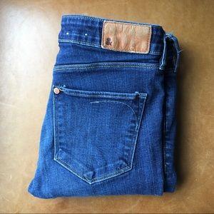 H&M Skinny jeans medium dark wash sz 28